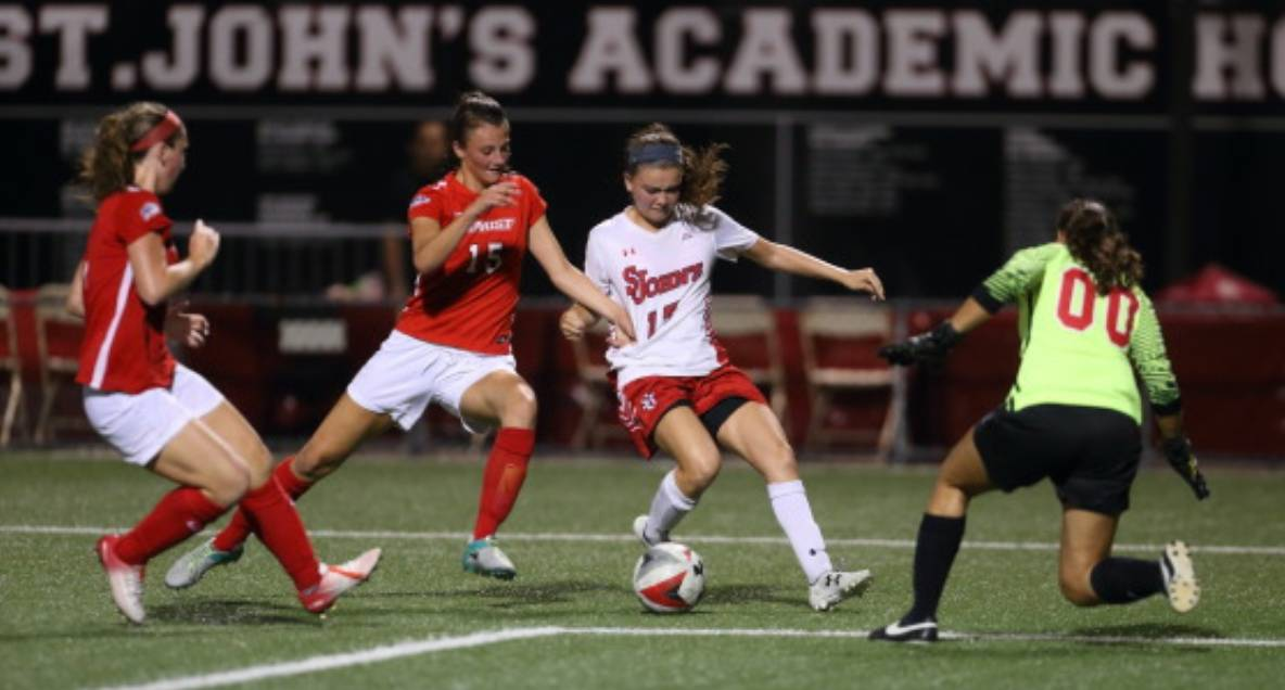 SOME EXTRA EFFORT: Bellero's extratime goal boosts St. John's women