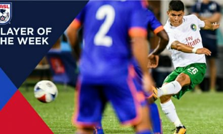 NO SURPRISE HERE, TOO: Cosmos' Calvillo NASL player of the month