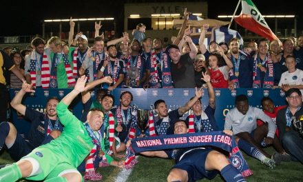 A VERY HIGH FIVE Elm City Express captures NPSL crown with 5-0 win