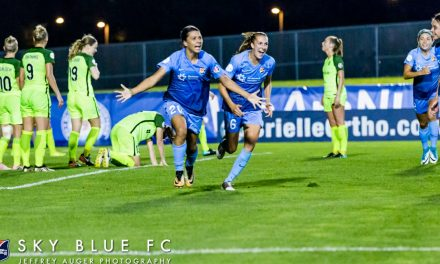 MVP FINALIST: Sky Blue FC's Kerr among five women vying for top NWSL honors
