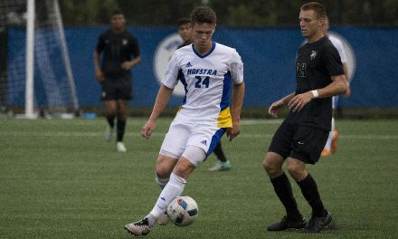KEEPING A CLEAN HOUSE: Hofstra men blank Charleston, 2-0