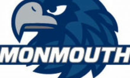 A BRACE FOR ROSS: Scores both goals in Monmouth women's win