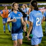 TWIN CAPTAINS: With Pearce out, Kerr, O'Hara will skipper Sky Blue FC