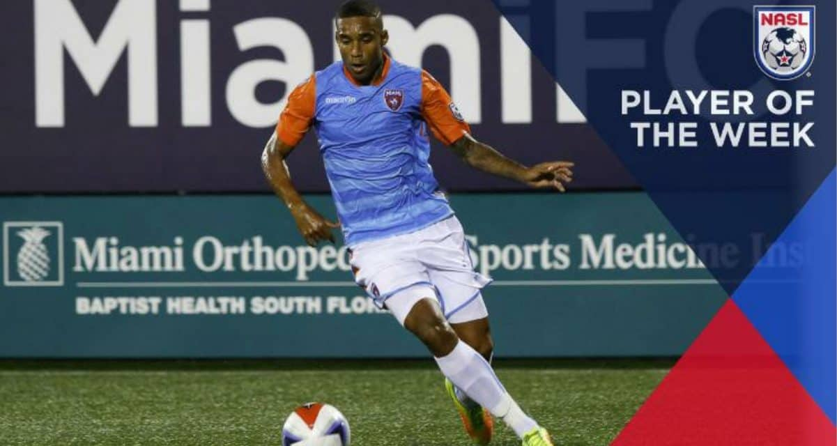 NASL PLAYER OF THE WEEK: Miami FC's Pinho earns the award