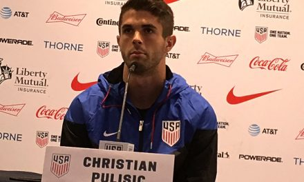 AND YOU CAN QUOTE HIM: Pulisic talks about U.S. WCQ vs. Panama