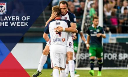 NASL PLAYER OF THE WEEK: Ex-Mexican international Torrado is honored