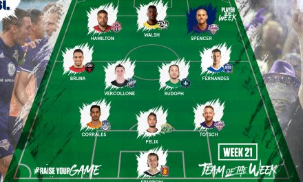 USL PLAYER OF THE WEEK: Louisville City FC's Spencer gets the nod