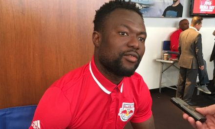 BACK INTO THE SWING OF THINGS: Baah loaned to Red Bulls II