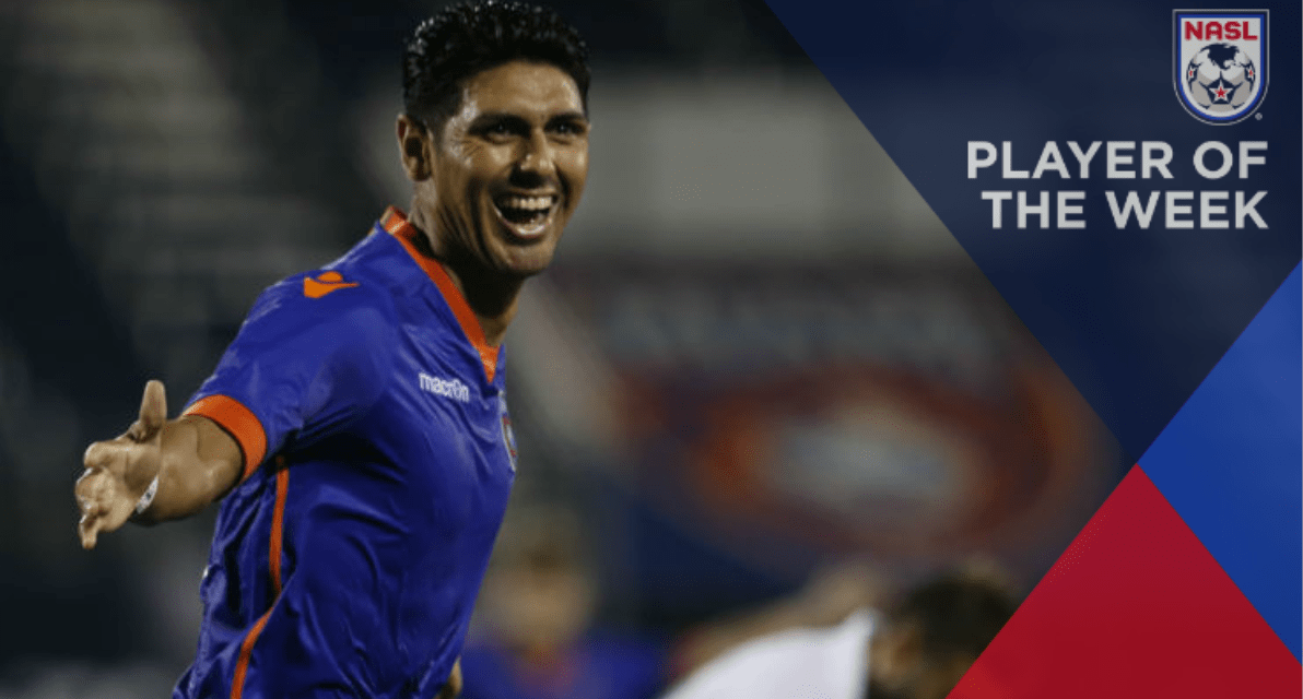 HATS OFF: Miami FC's Chavez (3 goals) named NASL player of the week