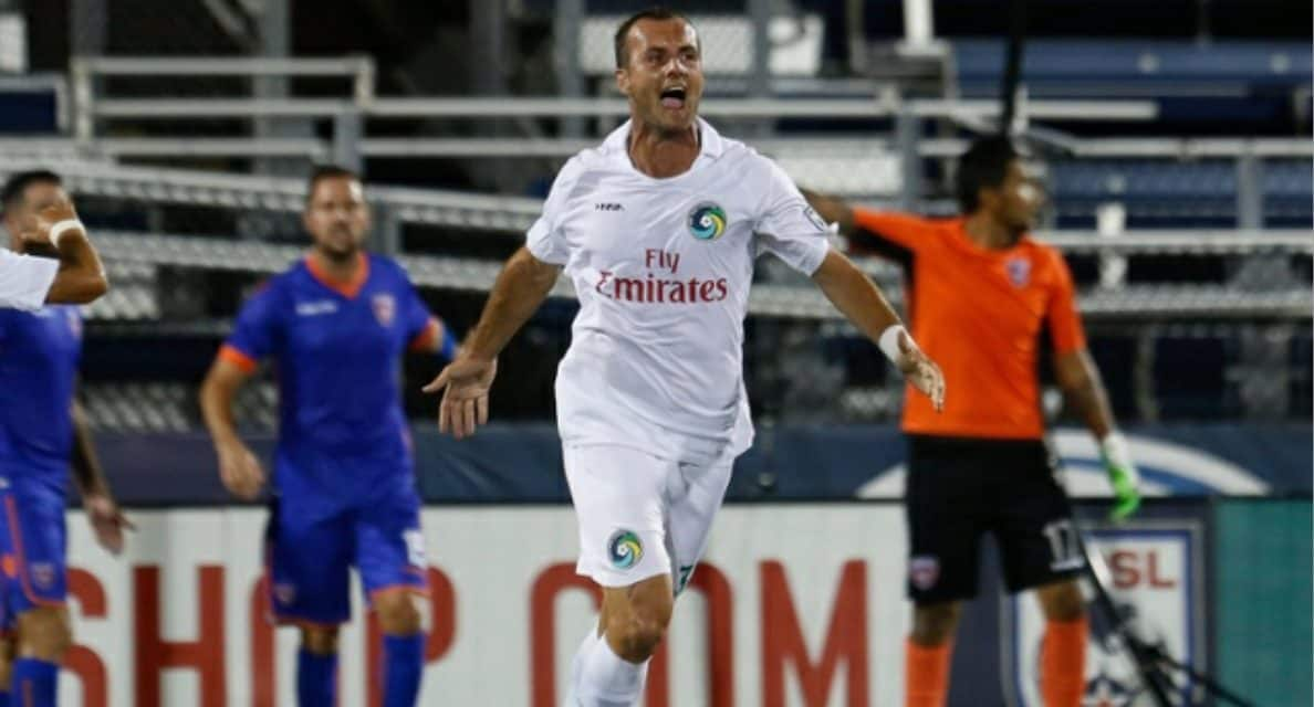 GOALS GALORE: Watch highlights of Cosmos' 3-3 draw at Miami FC