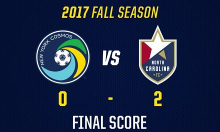 HOME, SOUR, HOME: Cosmos go disastrous 0-1-2 on homestand after 2-0 loss to North Carolina FC