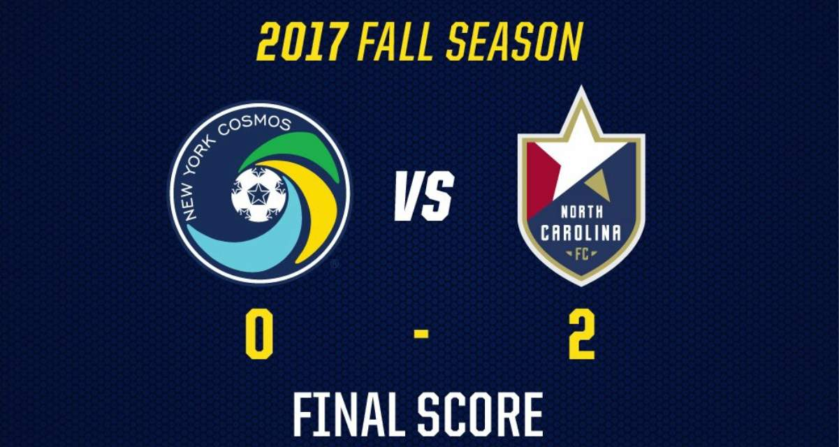 St Francis Brooklyn Soccer >> HOME, SOUR, HOME: Cosmos go disastrous 0-1-2 on homestand after 2-0 loss to North Carolina FC ...