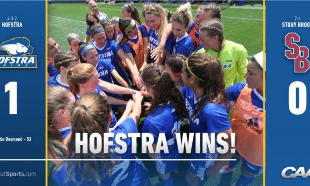 QUEENS OF LONG ISLAND: Hofstra women blank Stony Brook, 1-0