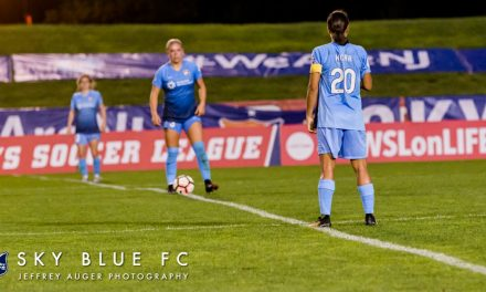 GUNNING FOR THE RECORD: Kerr looks to break NWSL season scoring mark