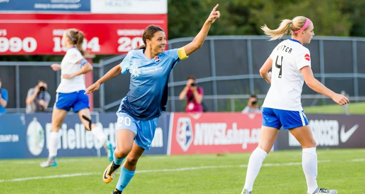 FOUR IN A ROW: Sky Blue FC's Kerr makes NWSL team of the month for 4th consecutive time