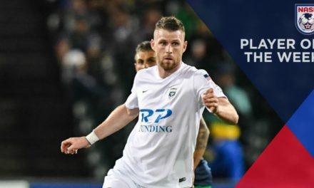 THIS IRISHMAN'S EYES ARE SMILING: Armada FC's Kilduff NASL player of the week