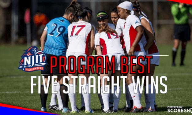 A HIGH FIVE: NJIT women blank Wagner, extend win streak to 5