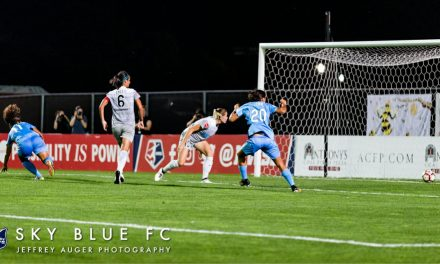DOUBLE HEROICS: Rodriguez's goal, Casey's saves give Sky Blue FC a tie with North Carolina