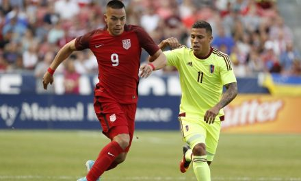 DON'T KNOCK ON THIS WOOD: 2nd-half sub's late goal lifts U.S. into 1-1 WCQ draw in Honduras