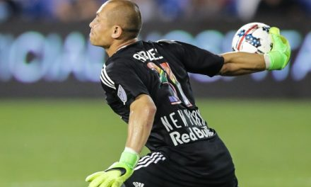SOME SAVING GRACES: Late stops by Robles helps preserve Red Bulls' 2-2 draw at Dallas