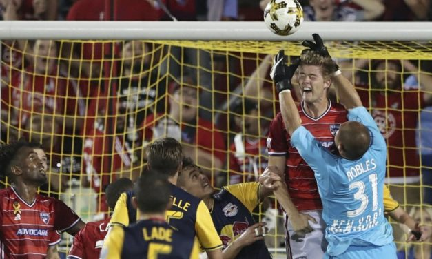 A CHANCE TO CATCH THE FIRE: Red Bulls face potential six-point swing in Chicago