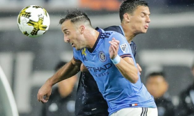 STILL OPTIMISTIC: NYCFC players think they can catch Toronto FC