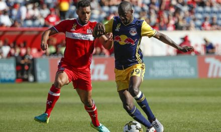 A TYING EXPERIENCE: Red Bulls lose lead, settle for draw at Chicago