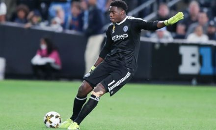 PLAYER OF THE WEEK: Goalkeeper Sean Johnson saves NYCFC