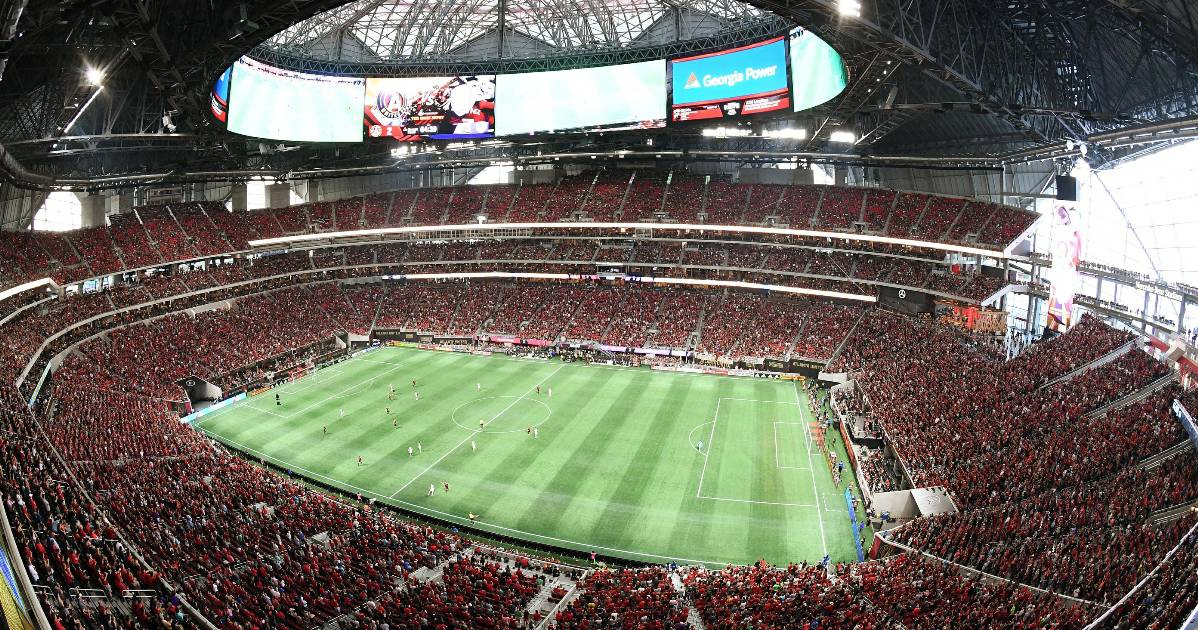FILLING THE NET AND THE STADIUM: Record 70,425 watch Martinez record 2nd consecutive hat-trick in Atlanta's tie with Orlando