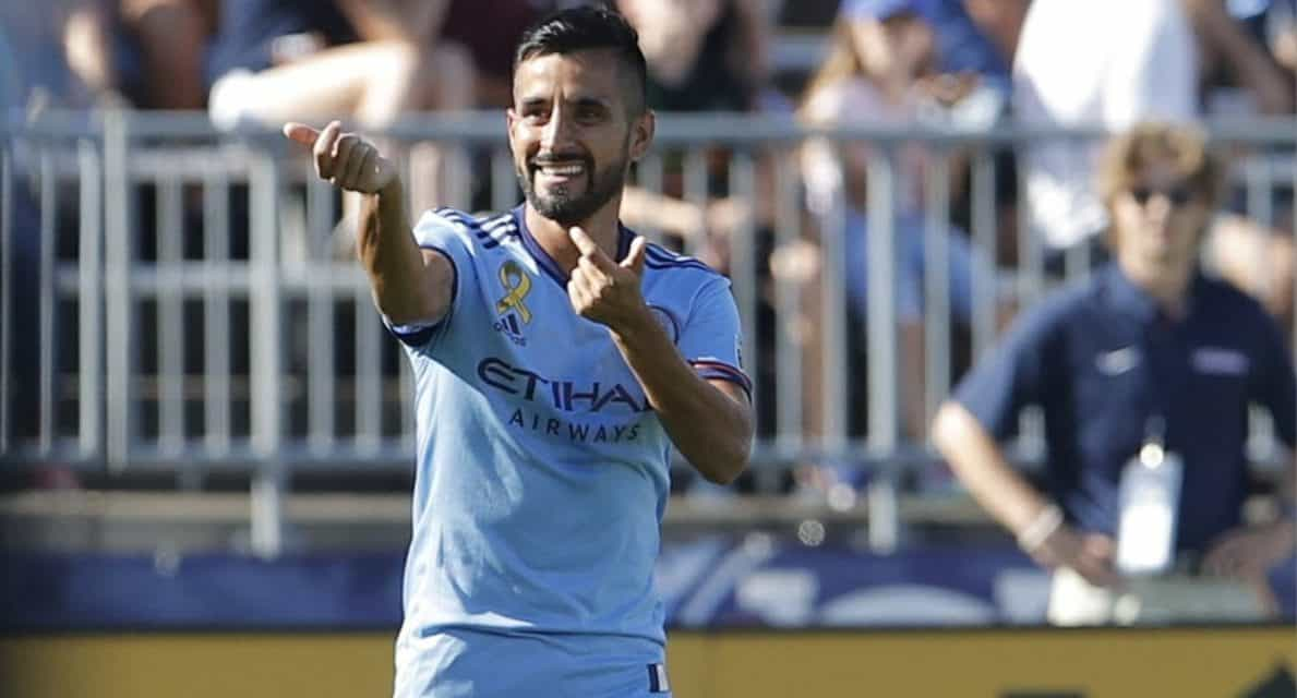 LACKING THAT FINISHING TOUCH: NYCFC just can't put away its chances