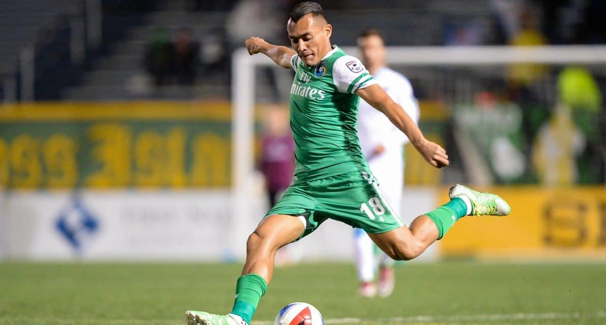 RARING TO GO: Arango ready to help Cosmos' playoff push