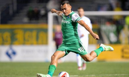 RARING TO GO: Arango ready to help Cosmos' playoff push