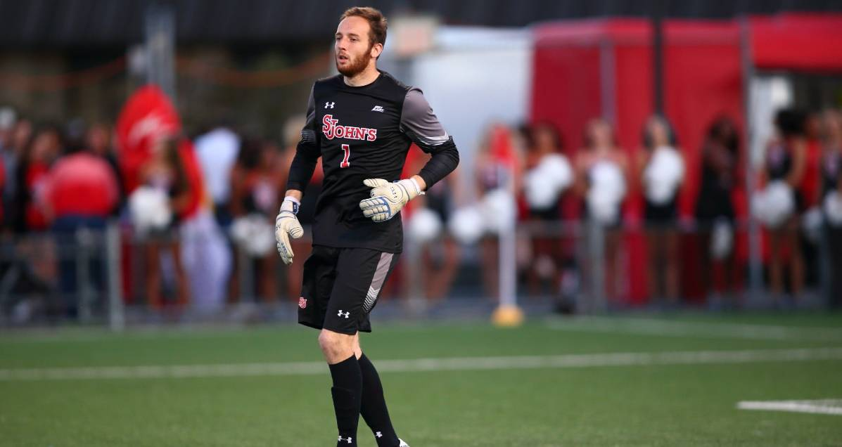 AND HE'S A KEEPER, TOO: Big East honors St. John's GK Withers