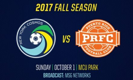 SWAPPING DATES: Cosmos, Puerto Rico trade home games in wake of hurricanes