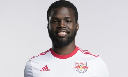 HE WILL BE LEFT BACK: Red Bulls sign Lawrence to a new contract