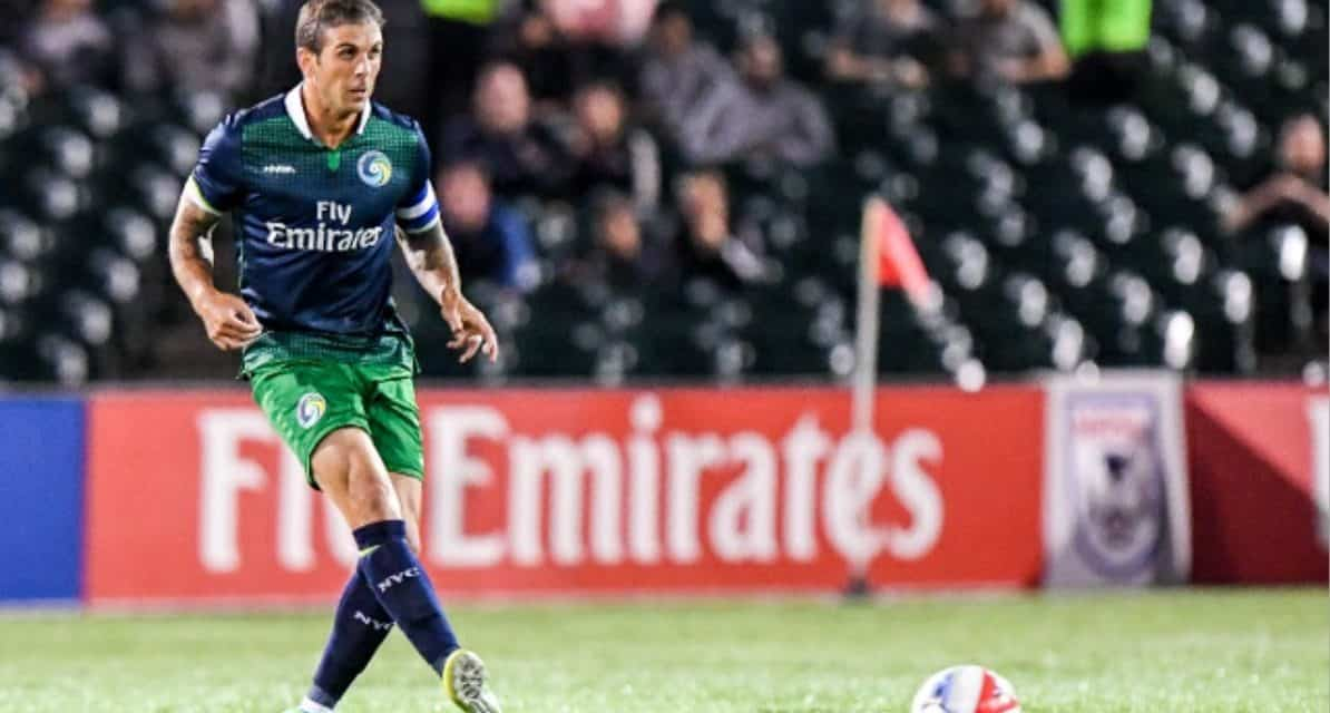 HANGING THEM UP: Cosmos' Mendes to retire after this season