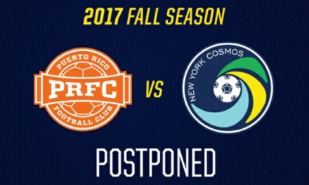 MOTHER NATURE 1, SOCCER 0: Hurricane forces postponement of Cosmos-Puerto Rico game
