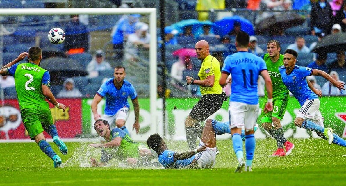 MOVING UP THE LADDER: Carmel, N.Y's Sibiga makes an impact as an MLS referee