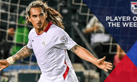 NASL PLAYER OF THE WEEK: Deltas' Sandoval (2 goals vs. Cosmos)