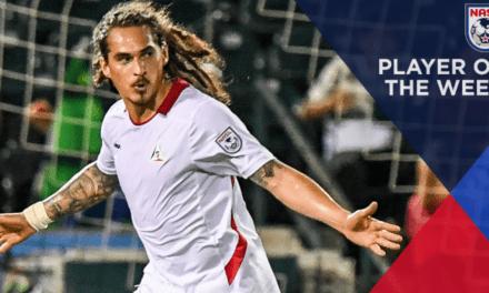 NASL PLAYER OF THE WEEK: Deltas' Sandoval (2 goals vs. Cosmos)