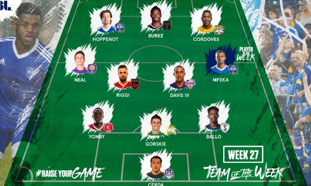 USL PLAYER OF THE WEEK: Reno 1868 FC's Mfeka gets the nod; ex-Cosmos Gorskie on team of week