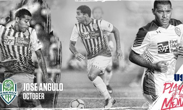 AN OCTOBER FEST: OKC Energy FC's Angulo named USL player of the month