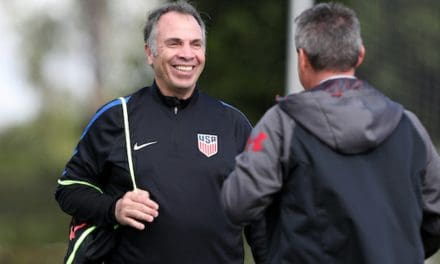 SECOND TO BUT ONE: Arena trails Schmid on MLS all-time coaching win list