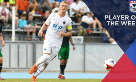 NASL PLAYER OF THE WEEK: Jacksonville's Jack Blake wins it
