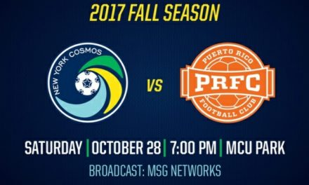 ONE MORE HOME GAME: Cosmos to host Puerto Rico FC Oct. 28
