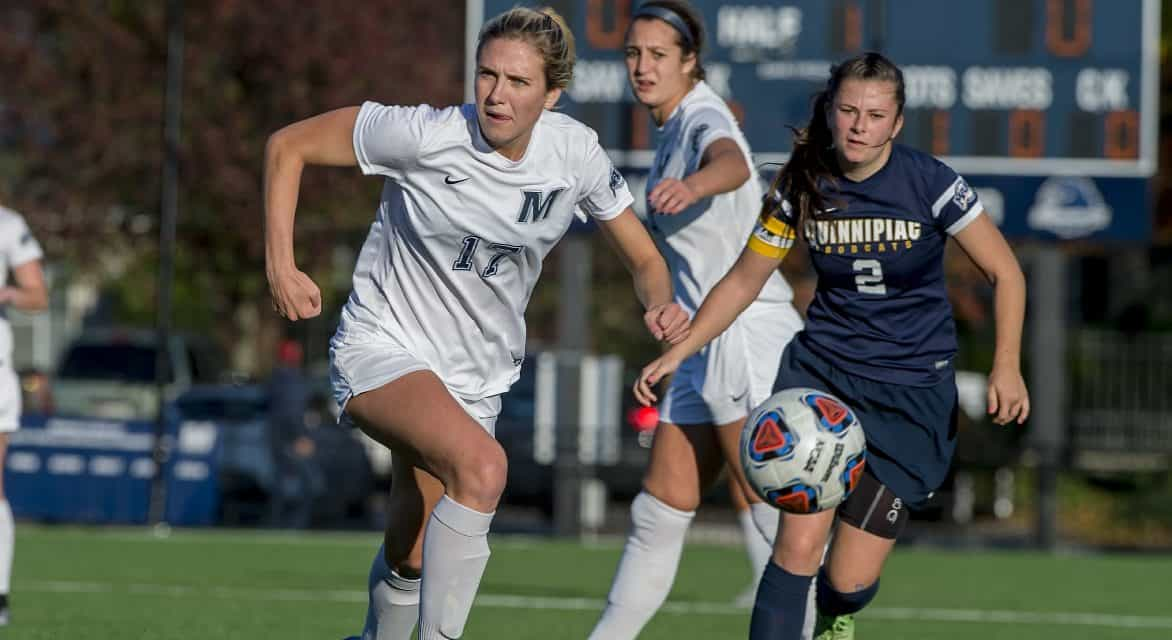 A MONMOUTH STATEMENT: Hawks women roll over No. 25 Texas, 4-0