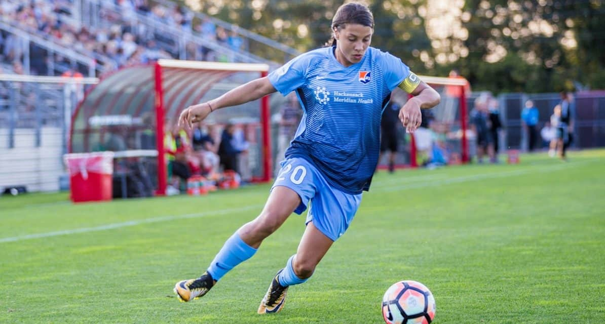 HOPING TO FIND SOME GLORY: Sky Blue's Kerr, Stanton, Rodriguez to play for Perth this winter