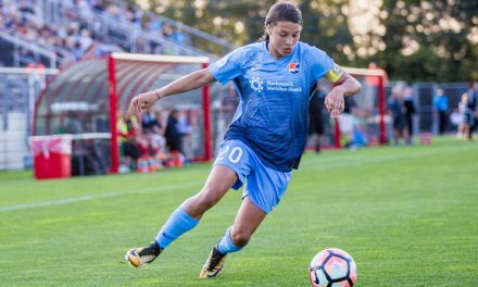 SHE'S GOING TO GET BETTER: Reddy: Even with foes focusing on her, Sky Blue FC's Kerr will continue to grow