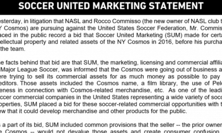 SUM MAKES ITS CASE: 'Any suggestion by Mr. Commisso that SUM's conduct was in any way improper is without any merit'