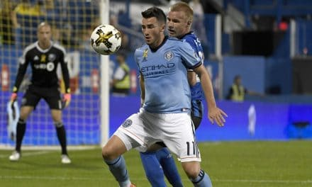 GETTING THE CALL: England U-21's summons NYCFC's Harrison
